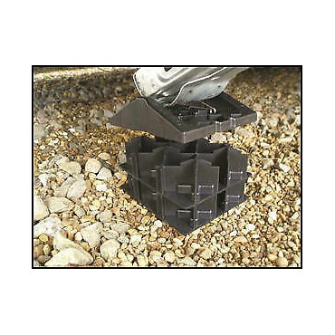 Caravan Jack/Leg Level Milenco Stacka Jacka Pads (Pack Of Four)