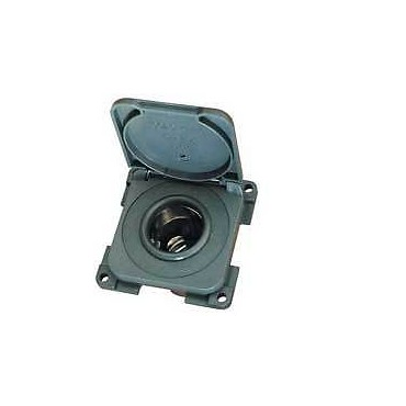Caravan Camper Cbe 12v Cigar Type Socket With Cover Flap