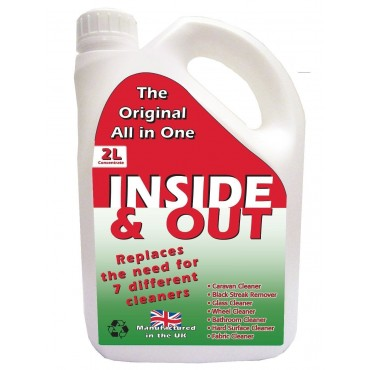 Caravan Motorhome OL:Pro Inside And Out Caravan Cleaner