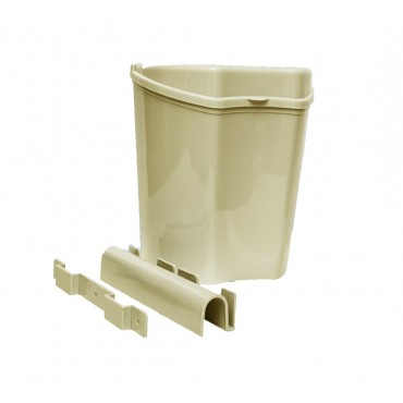 Plastic Removable Cupboard Door Waste Bin