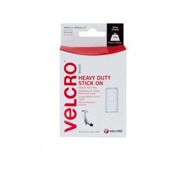 Velcro Branded Heavy Duty Stick On Hook & Loop Fastener