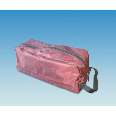 Caravan Tent Awning Peg Bag For Pegs & Guyrope - Burgundy
