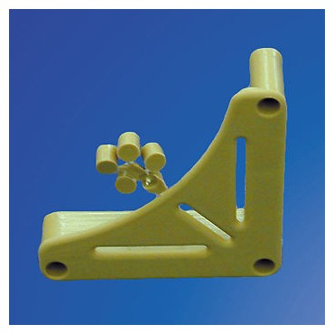 Caravan / Motorhome Beige Table Support Bracket - Pack Of Two