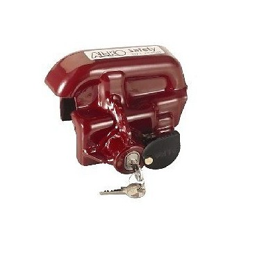Caravan Alko Aks 2/3004 Hitch Lock - Sold Secure Gold