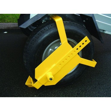 Maypole Universal Heavy Duty Wheel Clamp