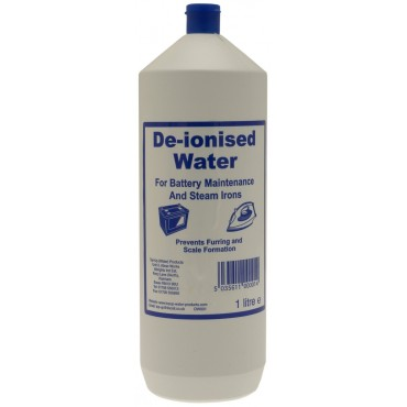 De-Ionised Water 1 Litre