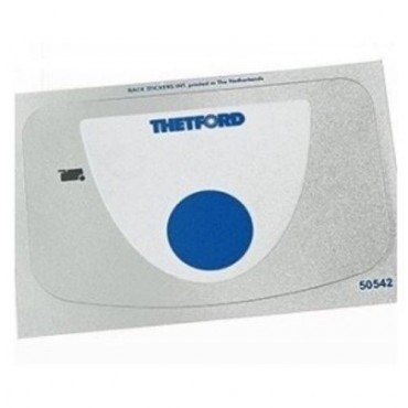 Thetford C250 Caravan / Motorhome Cassette Toilet Overlay / Sticker for Switch