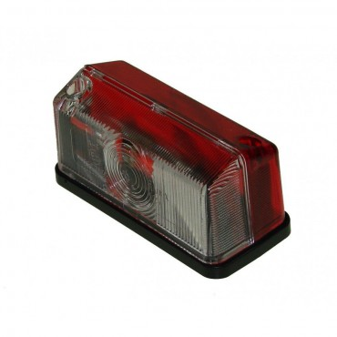Caravan Trailer Side Marker Lamp Red/Clear