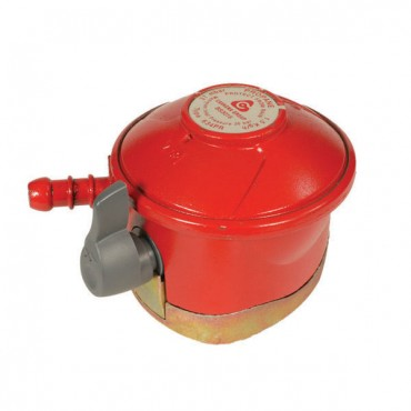 Barbecue Patio Gas Regulator - 27mm Clip-On Propane Regulator 37mbar