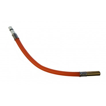 Tap Tail Reich To 12mm Male Push Fit - Red - 300mm