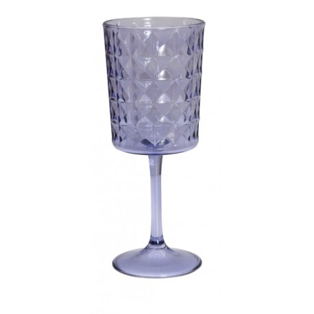 "Quest Leisure Lightweight Acrylic Florence Wine ""Glass"""