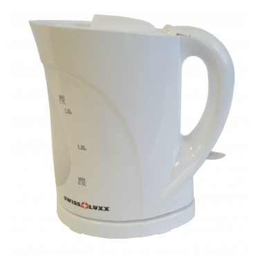Low Wattage Swiss Luxx 1.7l Cordless Jug Kettle