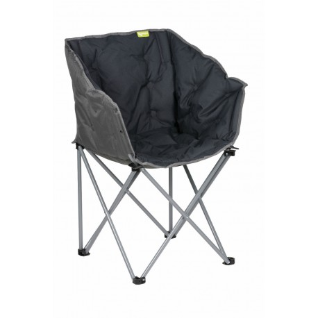 Kampa Tub Lightweight Folding Camping Chair - Charcoal