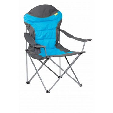 Kampa XL High Back Folding Camping Chair - Blue