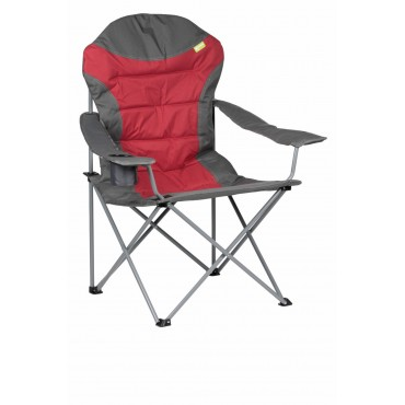 Kampa XL High Back Folding Camping Chair - Red