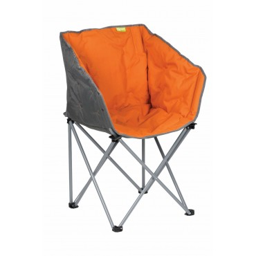 Kampa Tub Lightweight Folding Camping Chair - Burnt Orange