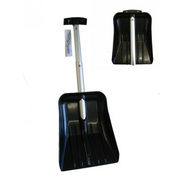 Simply Telescopic Lightweight Alloy Collapsible Snow Shovel - Don't Get Stuck