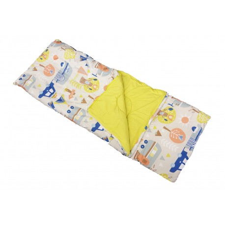 Childs Sleeping Bag & Pillow - Let's Camp