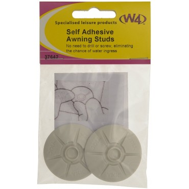 Caravan Awning Self Adhesive Skirt Studs (Pack Of 2)