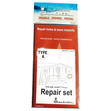 900060322 Isabella Acrylic & Polyester TEAR-AID Awning Repair Patch (Type A)
