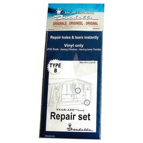 900060323 Isabella PVC Vinyl TEAR-AID Awning Repair Patch (Type B)