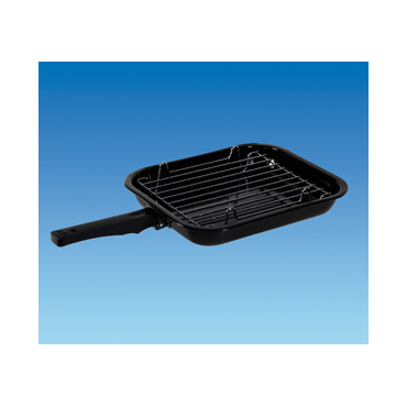 Caravan / Camper Ideal Size Compact Grill Pan with Trivet & Handle