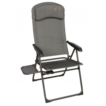 Quest Elite Naples Pro Lightweight Folding Camping Recliner Chair with Table