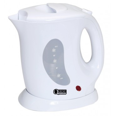 Low Wattage 1.0l Cordless White Jug Kettle