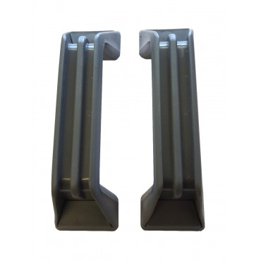 Zadi Grab Handles x 2 - Grey - 137mm Hole Centres