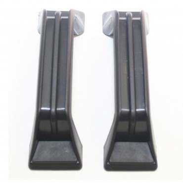Grab Handles x 2 - Black - 137mm Hole Centres