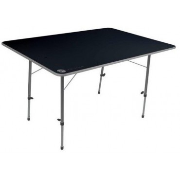 Adjustable Legs Large Camping Table - 120cm x 80cm