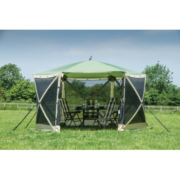 Quest Pop Up Instant Spring Up Screen House 6 Gazebo