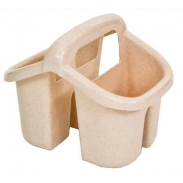B-Line Studio Kitchen Sink Caddy / Tidy - Oatmeal