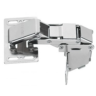 Hafele Swing Up Flap Hinge, for Mounting with Panel, Opening Angle 90°