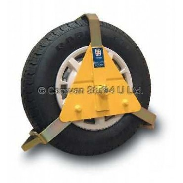 "Caravan / Trailer 10-14"" Stronghold Wheel Clamp"
