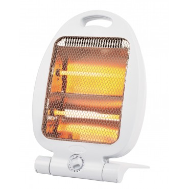 Quest Leisure - White Slimline Portable Electric Quartz Heater