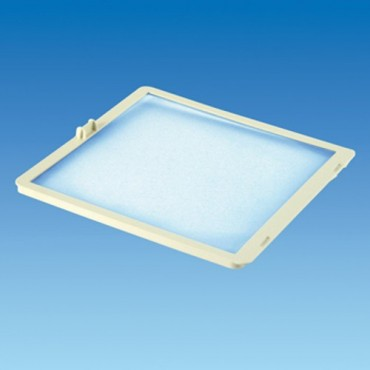 Mpk 320x360 (337x296) Rooflight Flyscreen - White