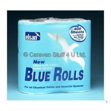 Elsan Caravan Toilet Rolls - Pack Of Four
