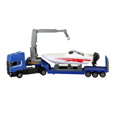 Toy Power Boat & Transporter