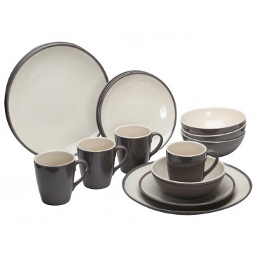 16 Piece Melamine Tableware Set