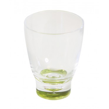 Quest Elegance Low Polycarbonate Tumbler 'Glass' - Lime