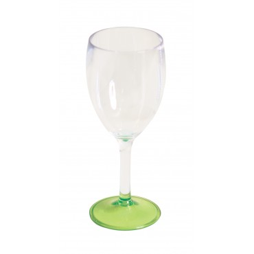 "Quest Leisure Lightweight Polycarbonate Elegance Wine ""Glass"" - Lime"