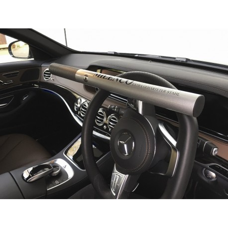 Milenco High Security Anti-theft Silver Steering Wheel Lock - Sold Secure Gold