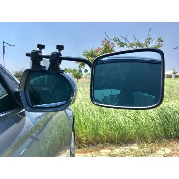 Milenco Falcon Caravan Towing Mirrors Twin Pack