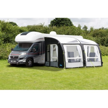 2018 Kampa Motor Rally AIR Pro 390 XXL Inflatable Motorhome Awning 280-295cm