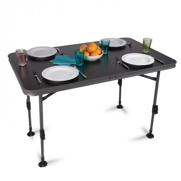 Kampa Element Large Camping Table with Adjustable Legs