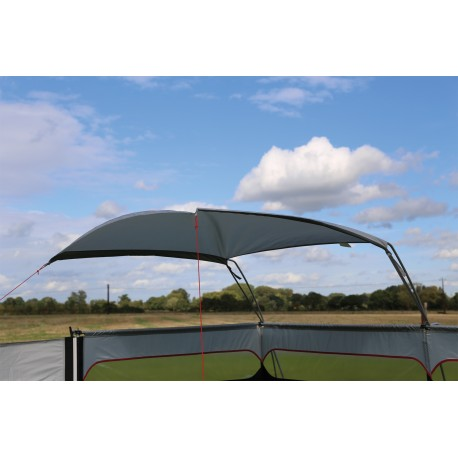 Quest Windshield Pro Framed Windbreak Weather Canopy