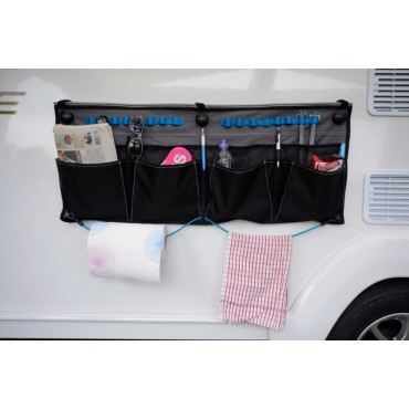 Kampa Pro Wide Organiser With Mesh Pockets