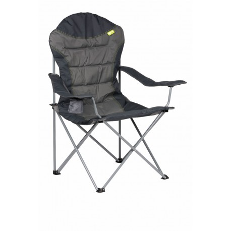 Kampa XL High Back Folding Camping Chair - Charcoal