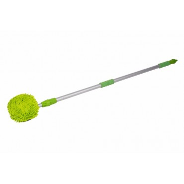 Kampa Microfibre Noodle Telescopic Flow Through Wash Brush